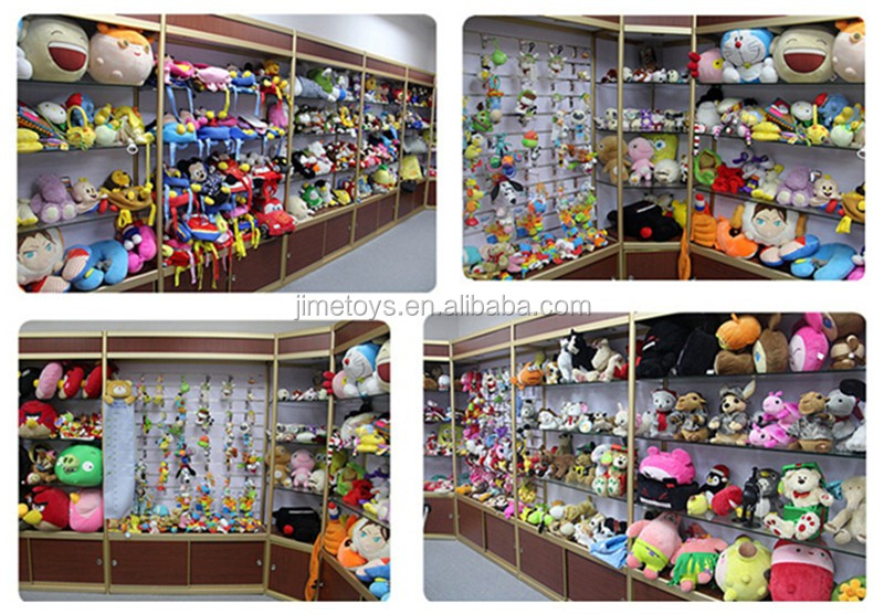 JM8719 Plush Dolls with Animal Toy Hat, Available in 4 Designs