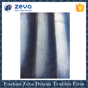 Factory stock competitive price lady jeans denim fabric wholesale