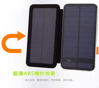 2017 Hot selling New Mobile Power Bank 10000mah solar powerbank portable charger external battery mobile charger backup power