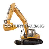 Chinese brand sale construction machinery 1.4-1.8m3 excavator SLL370E