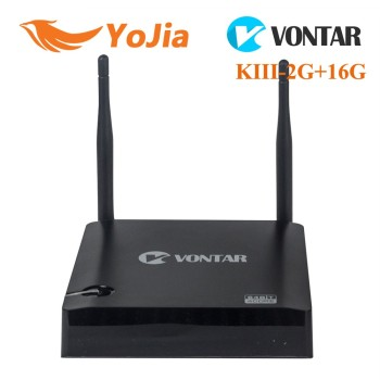 [Genuine] VONTAR K3 Amlogic S905 KIII Quad Core 2GB/16GB dual wifi Kodi Miracast Media Player android tv box