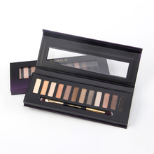 Private Label Natural Waterproof 12 Colors Eye Shadow