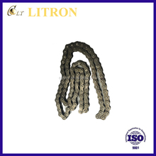 Motorcycle Type parts durable 4 side reiveted motorcycle transmission Drive chain