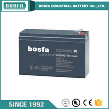 high rate sealed rechargeable 12v 5ah lead acid battery