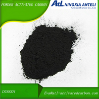medical grade wood powder acid washed activated carbon