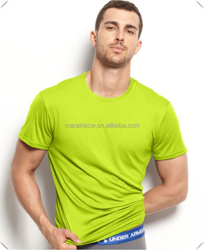 manufacturers china OEM Athletic Performance Dry Fit fitness muscle training gym sports running T Shirt