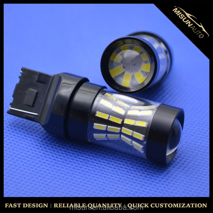 High quality auto car led bulb 1156/1157 66smd-4014 LED tail brake light reversing stop driving light for motorcycle