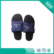 LN-1577101D Light Weight Black Sole ESD Fabric Slippers Shoes