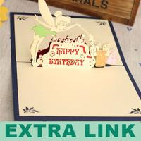 Custom Logo Decorative Paper 3d pop up card