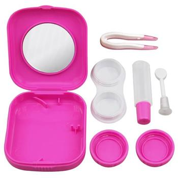Portable Contact Lens Case Mini Lens Kit