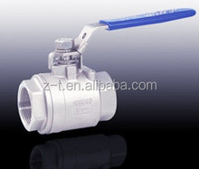 LEVER HANDLE OPERATION 1000PSI 1000 WOG 2PC BALL VALVE