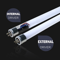 Onsale! 18W internal driver G5 base 320degree 4ft lamp glass lighting T5 LED tube