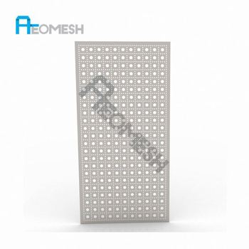 Made in Guangzhou Professional Factory Square side hole punch plate Decorative Metal Perforated Mesh
