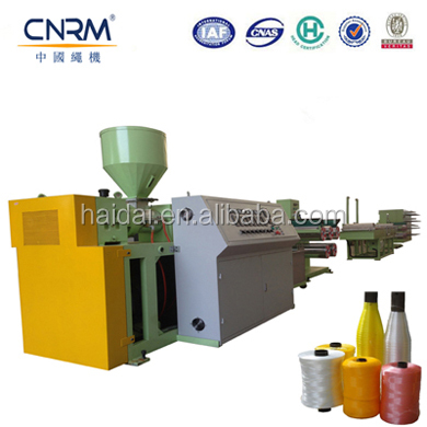 China Making 4~32 mm Rope Extrusion Line PP Rope machine