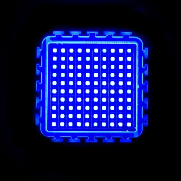 Bridgelux chip blue led lump 100W 470nm high power led