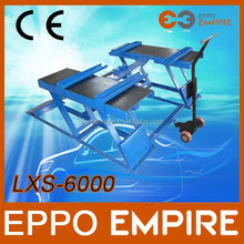2015 hot sale new CE approved high quality hydraulic scissor lifts/workshop equipment/small electric scissor lift