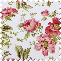 100% canvas cotton printed fabric with low cost