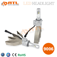 ATL New Arrival Upper Quality Above 30000 Hours life Time 50W 8000LM 9006 H4 H7 H11 H13 Car Led Headlight Conversion Kit