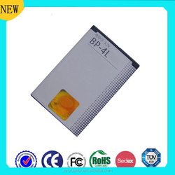 For rechargeable batery Nokia E61 Li-ion cell phone battery for Nokia BP-4L