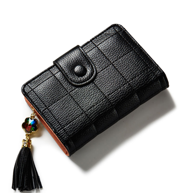 Classic Style Ladies Mini Card Wallets High Quality Popular Women Small Coin Wallet Purse Bag