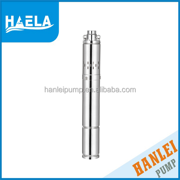 HANLEI BEST SUBMERSIBLE 0.75HP 3QGD stainless steel 1.5 kw deep well water pump