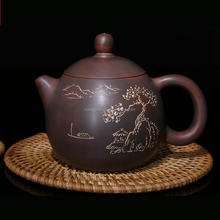Online Selling Genuine Round Dragon Egg Shaped Nixing Tea Pot