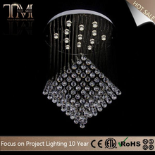 Latest Hot Selling!! Good Quality modern black glass chandelier for sale