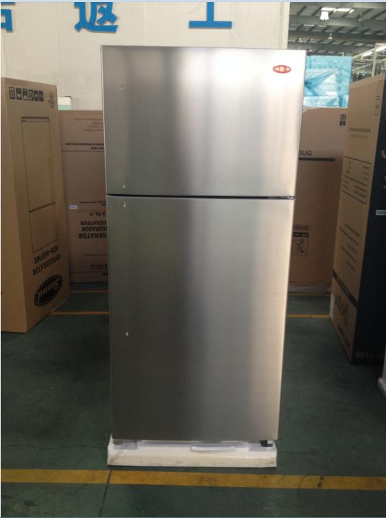 Bajo consumo de energ a del refrigerador de doble puerta grande nevera refrigerador de acero - Nevera doble puerta ...