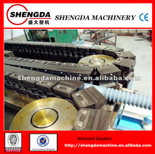 popular plastic single-wall corrugated pipe manufacturing machine/production line/cable protection pipe making machine