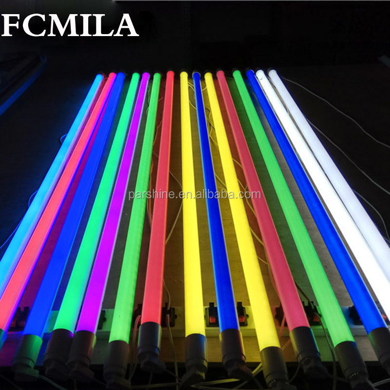 18W 1200MM T8 LED Tube Light High brightness Epistar1200mm red green blue colorful tube 25LM/PC AC85-265V