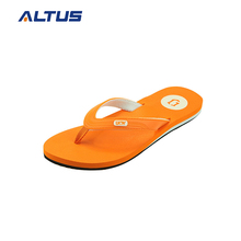 Custom multi-colors flip flop slipper manufacturing,orange rubber slippers man