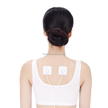 Customized tens reusable snap electrode pad for muscle stimulator