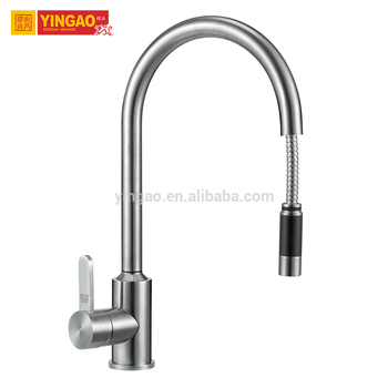 Single Hole Mixer Chroming Deck Mount Water kitchen faucets