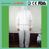 Type 3 type4 type 5 coverall with reflective tape