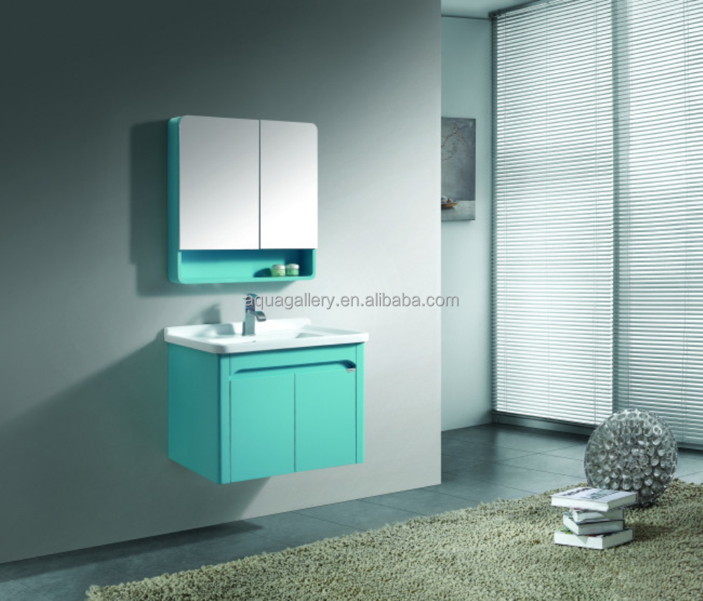 green painting small wall mounted bathroom cabinet 150716 buy green