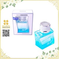 Innovative designed decorative car air freshener glass bottle