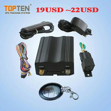 vehicle GPS Tracker central lock system TK103B+ ACC working alarm/ GPS tracker support tank fuel monitor