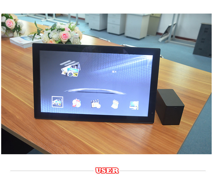 7inch~32inch indoor wireless wifi small digital video player