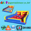 module inflatable bungee joust&twister combo game