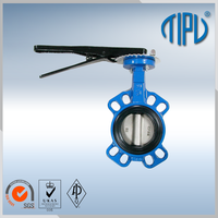 professional manufacturer wafer butterfly valve handles