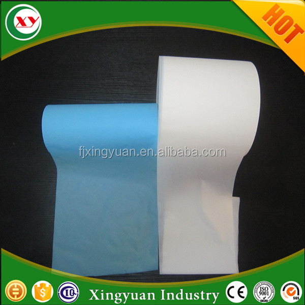 Free blue PE film for diaper making (breathable or nonbreathable ) (printed or unprinted )