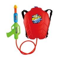 nerf water cannon toy gun with large-capacity backpack