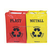 Lowest Price Customization Portable Woven Trash Pp Woven Plastic Colorful Garbage Bag Rolling