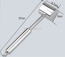 304 Stainless Steel Meat Tenderizer Hammer