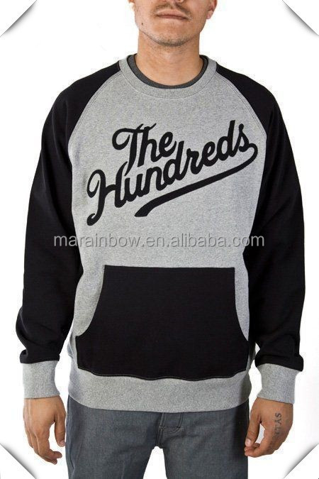 China Factory Custom Printing Crew-neck Sweatshirt For Men With ...