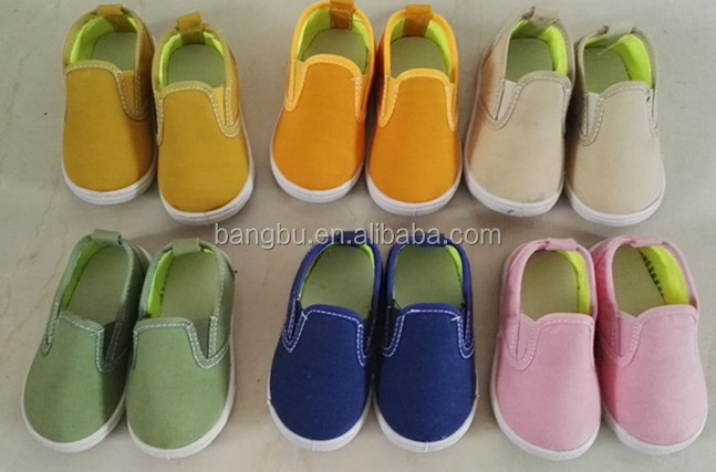 spring baby shoe kids casual shoe dot child canvas shoe