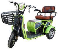 Canada hot selling electric passenger car three wheel electric trike with slide seat