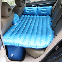New Style PVC Waterproof Self-Drive Inflatable Bed Car Back Seat Rest Inflatable Mattress With Air Pump Suit For Camping Travel