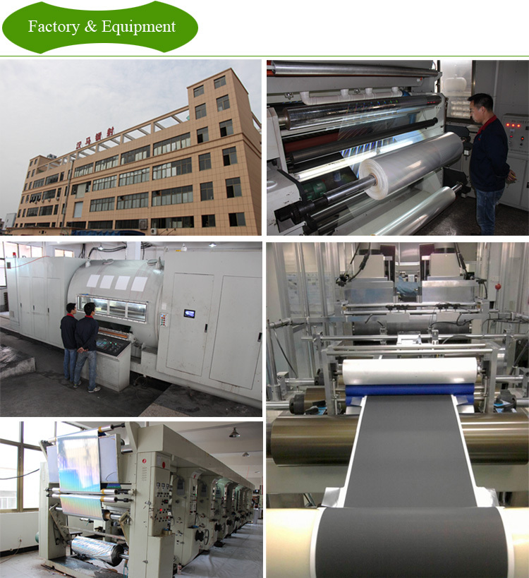 BOPP hologaphic thermal lamination film