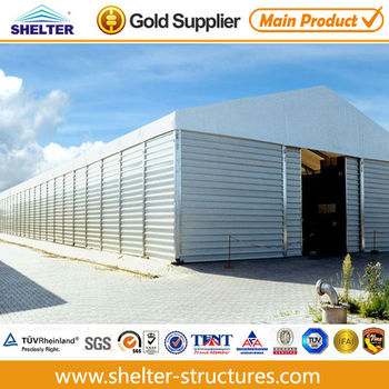 Large Abc Warehouse Tents Sale With Solid Wall 40x100m - Buy Abc ...